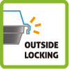 Outside Locking