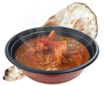 Curry container